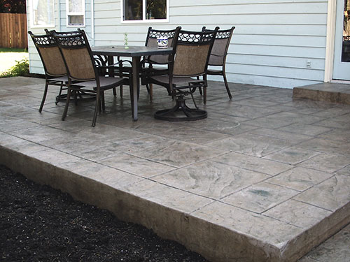 Concrete Patio Paver Patio
