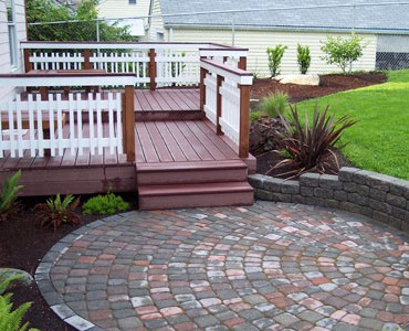 Decks And Patios Will Enhance Your Property.